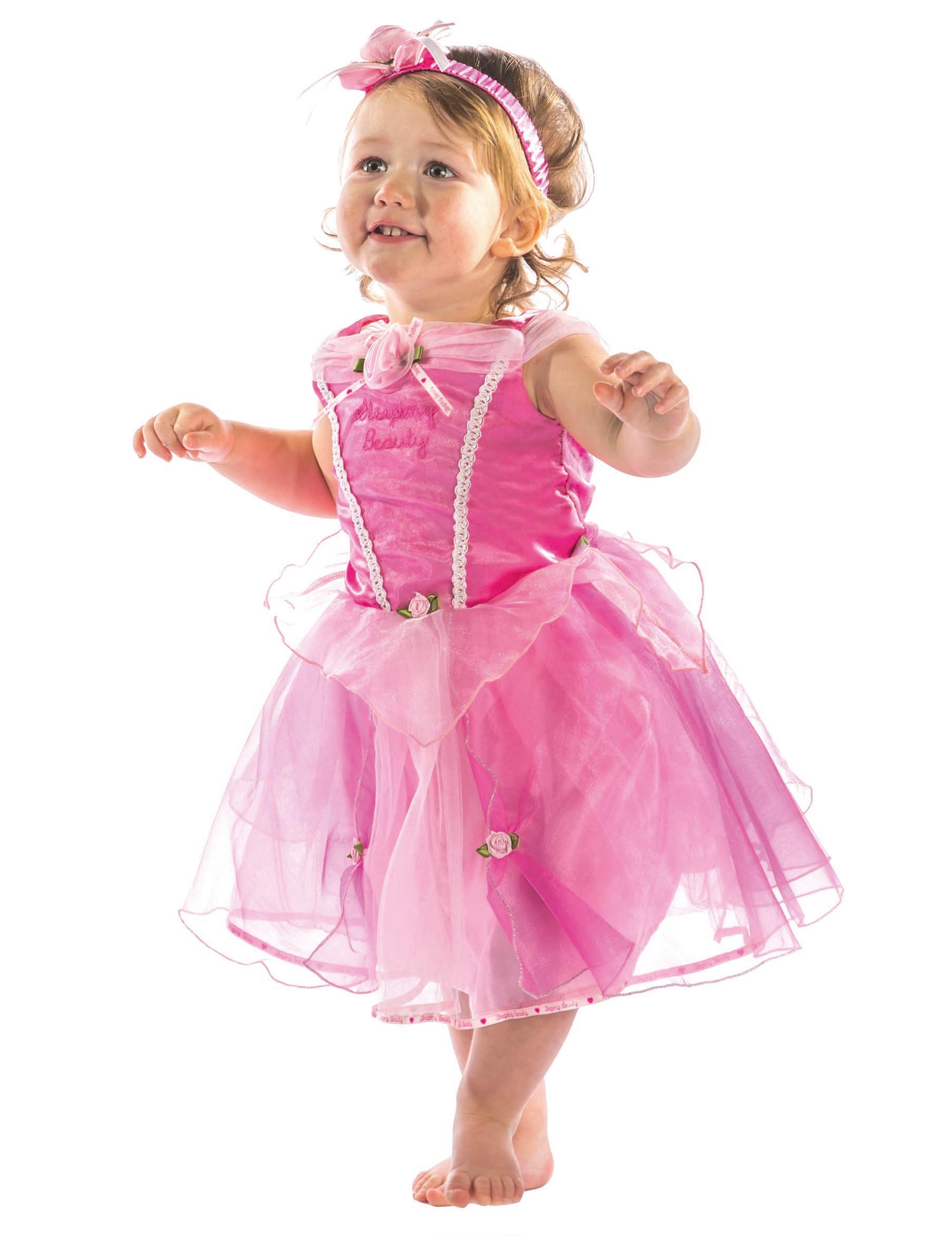 D guisement luxe aurore b b d coration anniversaire et f tes th me sur vegaoo party - Deguisement princesse aurore ...