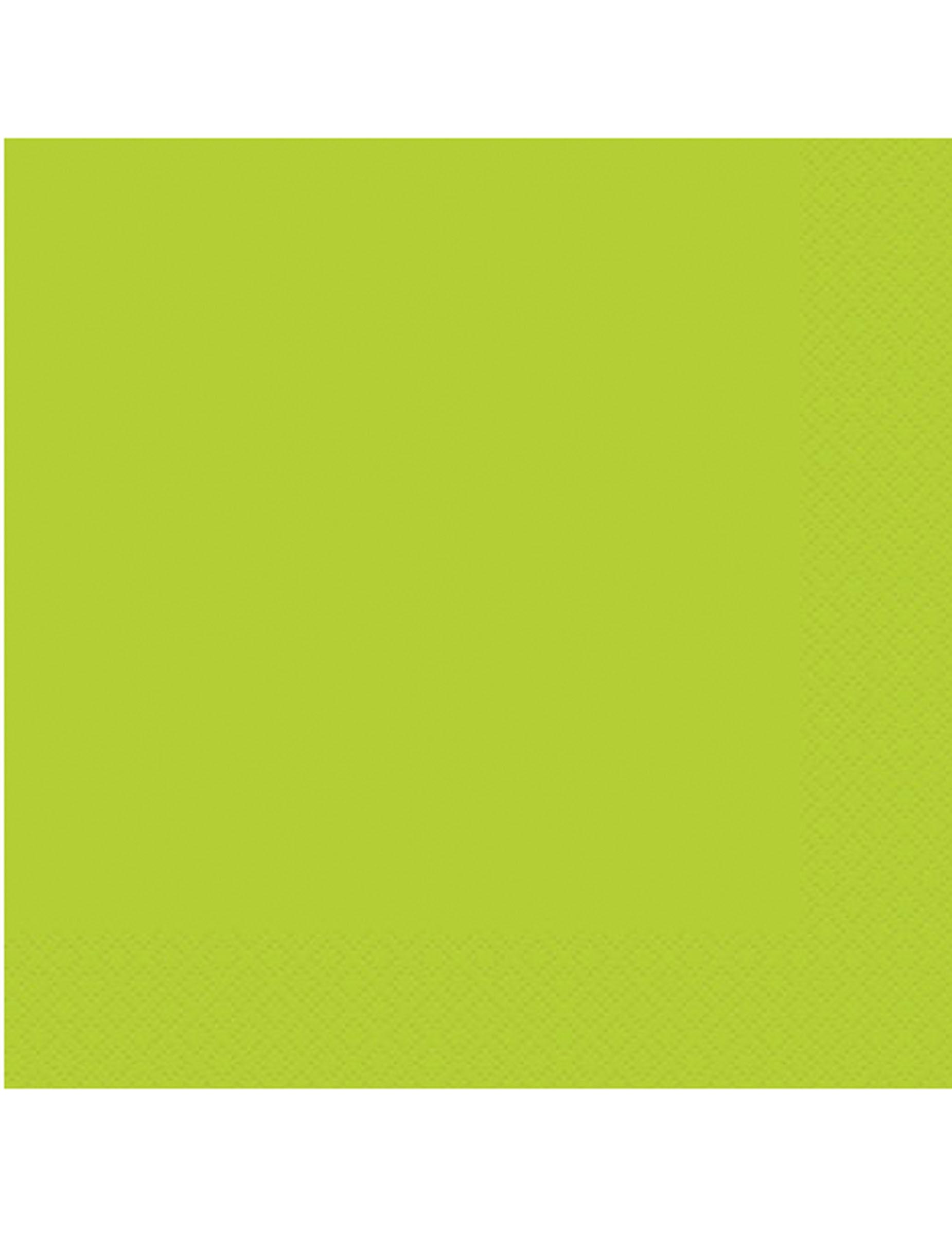 20 serviettes en papier vert pomme 33 x 33 cm d coration anniversaire et f tes th me sur - Chambre marron et vert pomme ...