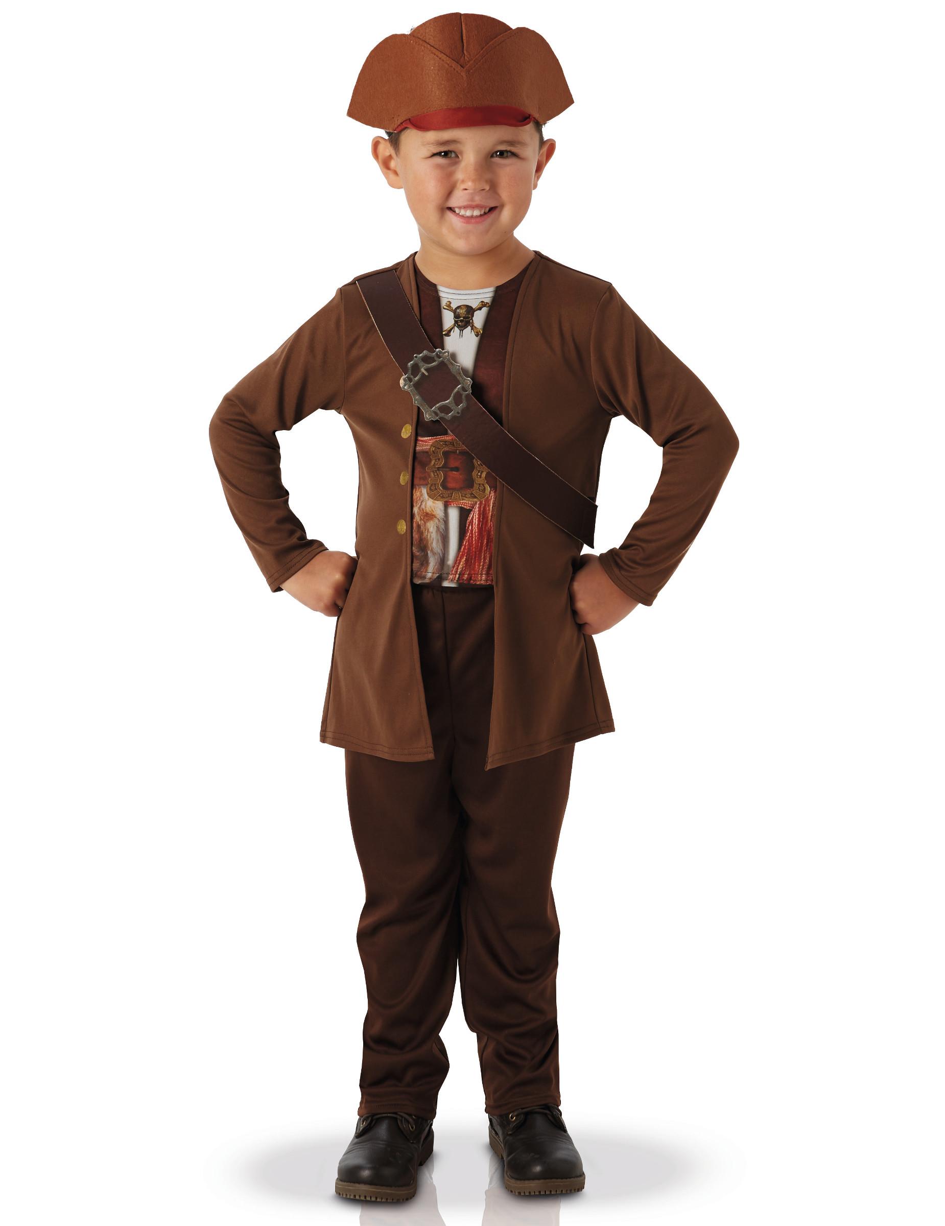 D Guisement Classique Jack Sparrow Pirates Des Cara Bes Enfant