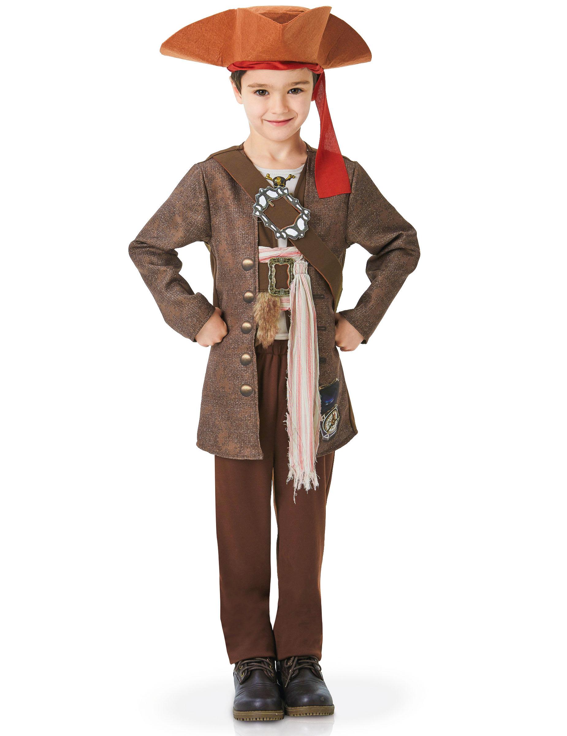 D Guisement Luxe Jack Sparrow Pirates Des Cara Bes Enfant