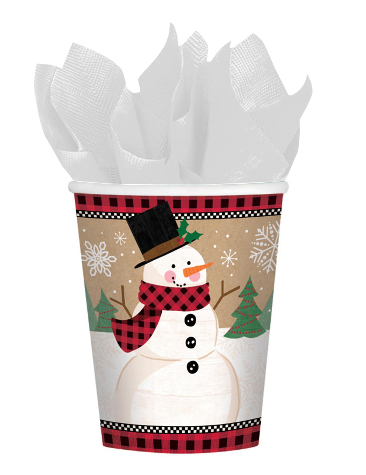 Stunning gobelets en carton bonhomme de neige ml with bonhomme neige gobelet - Faire un bonhomme de neige avec des gobelets ...