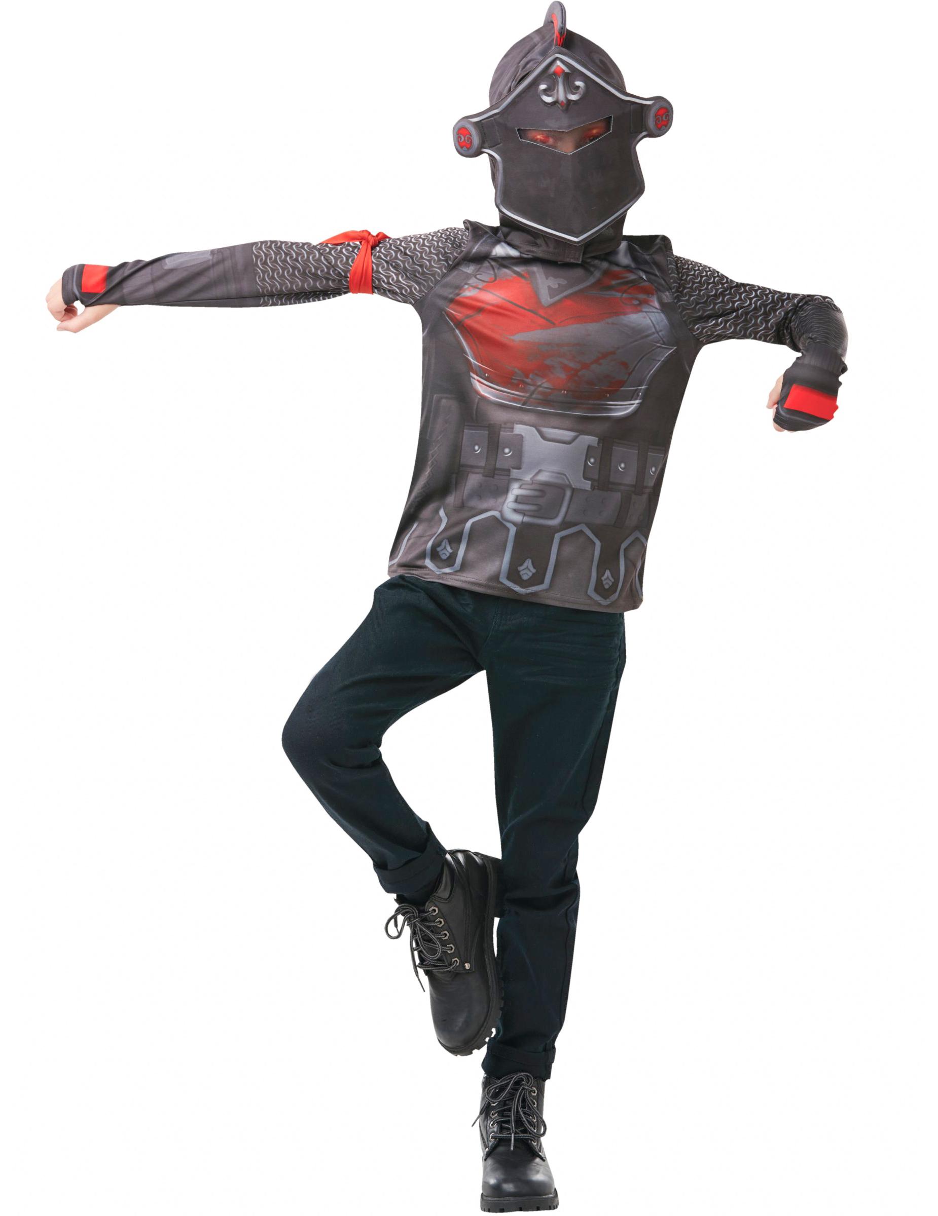 T Shirt Et Cagoule Black Knight Fortnite Adolescent Decoration