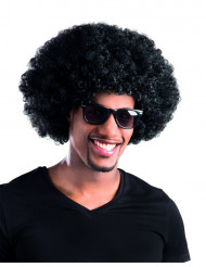 Perruque afro/ clown noire volume adulte