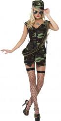 Déguisement militaire sexy femme