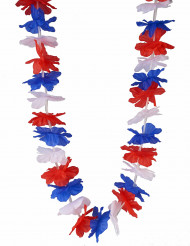 Collier Hawaï supporter tricolore