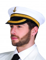 Chapeau capitaine marin adulte