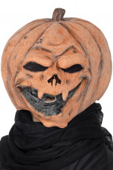 Masque citrouille adulte Halloween