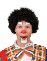 Perruque afro clown noire adulte