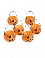 Mini-citrouilles bonbonnières Halloween