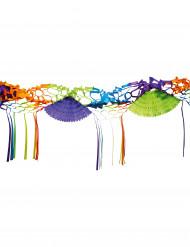 Guirlande papier multicolore