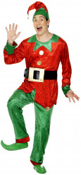 Déguisement elfe homme Noël
