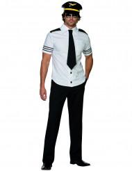 Déguisement pilote de l'air homme