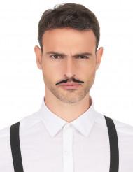 Moustache gangster années 20 adulte