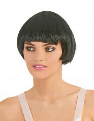 Perruque charleston noire femme