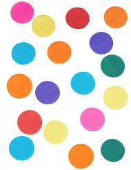 Confettis géant multicolores en papier