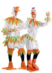 Déguisement couple canard blancs