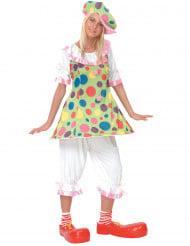 Déguisement clown femme