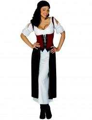 Déguisement robe Lucrezia femme
