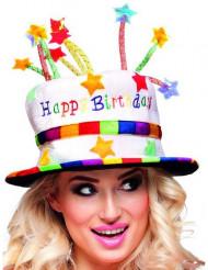 Chapeau happy birthday adulte