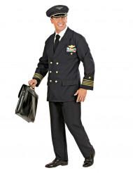 Déguisement pilote d'avion homme