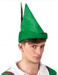Chapeau homme des bois vert adulte