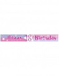 Bannière rose anniversaire Ages