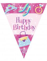 Bannière Happy Birthday pour fille