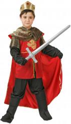 Déguisement roi médiéval garçon