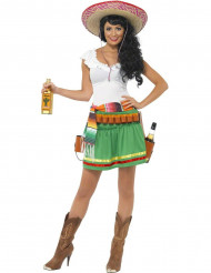Déguisement serveuse mexicaine femme