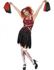 Déguisement zombie pom-pom girl femme Halloween