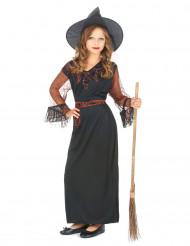 Déguisement sorcière noir fille Halloween