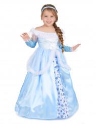 Déguisement de princesse bleue fille