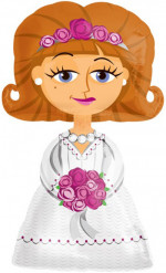 Ballon femme mariée 122 cm