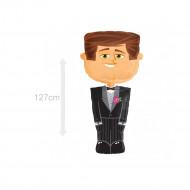 Ballon homme marié 127 cm