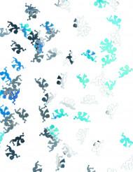 Déco fetti's anges argentés et irisés Noël