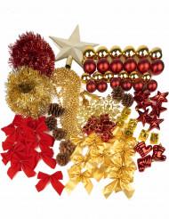 Kit complet décoration pour sapin Noël