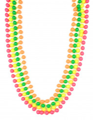 Colliers perles fluorescentes adulte