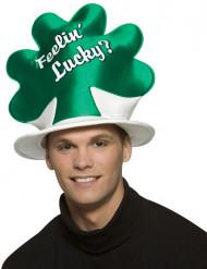 Chapeau chance trèfle St Patrick adulte