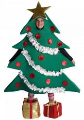Déguisement sapin de Noël humoristique adulte