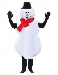 Déguisement bonhomme de neige Noel adulte