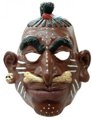 Masque chef de tribu