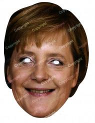 Masque carton Angela Merkel