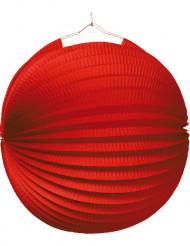 Lanterne rouge 25 cm de diamètre