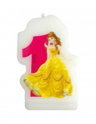 Bougie chiffre 1 Disney Princesses Journey™