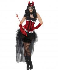 Déguisement diva démoniaque sexy femme Halloween