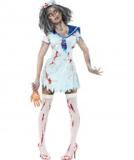 Déguisement zombie marin femme Halloween