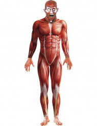 Déguisement anatomie humaine homme Halloween