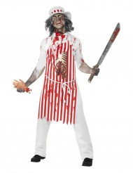 Costume boucher zombie adulte Halloween