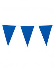 Guirlande à fanions géants bleus 10m