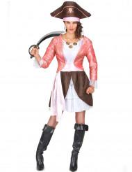 Déguisement de pirate adulte femme